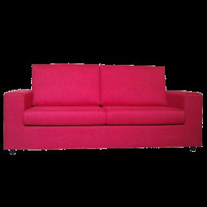 divano design rosa