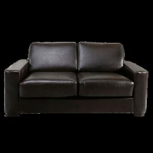 divano a due posti in pelle